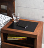 Nexo Knight Wireless Charging Bed Side Table with Drawer by Woodsworth
