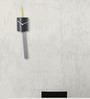 Nextime Black Plastic 17.5 x 4 Inch Scholar Wall Clock