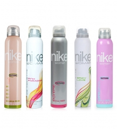 Nike Deodorants For Women Set Of 5 - 150 Ml Each