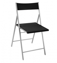 Nilkamal Jetta Folding Chair Black