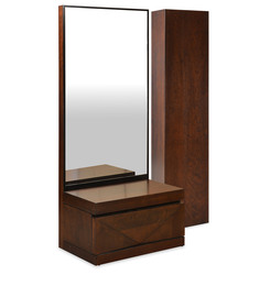 Nixon Dressing Table with Storage in Cherry Colour by @home