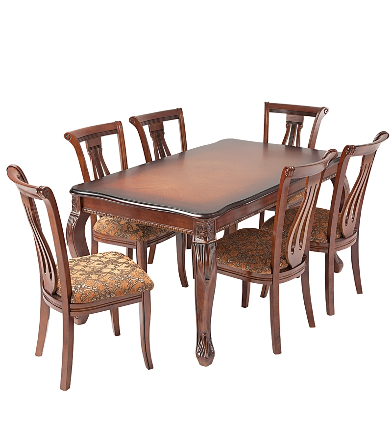 Nilkamal Daisy Dining Set 1 Table and 6 Chairs by  : Nilkamal Daisy Dining Set 1 Table and 6 Chairs IDAISYDSET6 1BRN 1369838412IO3mJ4 from www.pepperfry.com size 800 x 880 jpeg 264kB