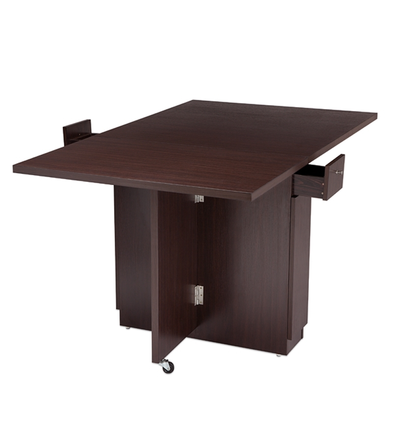 Buy Nilkamal Hector Folding Dining Table Multipurpose  : Nilkamal Hector Folding Dining Table multipurpose Table IHECTORDINTBLBRN 1361614619m1vnJ9 from www.pepperfry.com size 800 x 880 jpeg 128kB