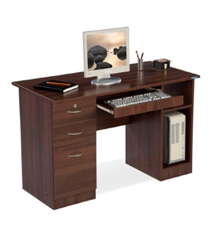 Nilkamal Executive Acacia Computer Table By Nilkamal Online Modern Furniture Pepperfry Product