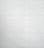 Nilaya by Asian Paints White Strippable Non-Woven Paper Kelly Hoppen Medallion Panel Wallpaper