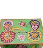 Niramitra Hand Painted End Table by Mudramark