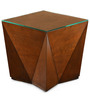 Nixon End Table in Antique Cherry Colour by @home