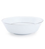 Noritake White and Silver Porcelain 1000 ML Serving Bowl