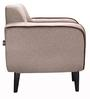 Norway Finesse One Seater Sofa in Fog Golden Beige Colour by Urban Living