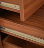 Nova Pedestal Storage in Walnut Regato Colour by HomeTown
