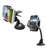 Novel PVC & Plastic Bracket 360 Degree Rotator Suction Cup Phone Holder & Suction Square Car Phone Holder Combo