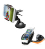 Novel PVC & Plastic Bracket Mount Phone Holder & Clip Clamp Bracket Car Phone Holder Combo