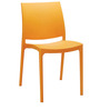 Novella Chair in Orange Colour by Nilkamal