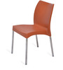 Novella Series - 7 Set of 2 Chairs in Rust Colour by Nilkamal