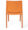 Novella Series - 8 Set of 2 Chairs in Orange Color by Nilkamal