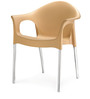 Novella Series - 9 Set of 2 Chairs in Biscuit Colour by Nilkamal