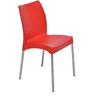 Novella Series-07 Chair in Red Colour by @home