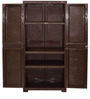 Novelty Big Storage Cabinet in Pearl Brown colour by Cello