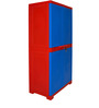 Novelty Big Storage Cabinet in Red & Blue Colour by Cello