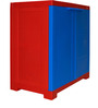 Novelty Compact Storage Cabinet in Red & Blue colour by Cello
