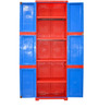 Novelty Large Storage Cabinet in Red & Blue colour by Cello