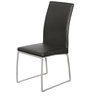 Novice Dining Chair (Set of 2) in Silver & Black Colour by Godrej Interio