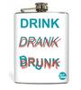 Nutcase 207 ML Drink Drank Drunk Hip Flask