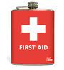 Nutcase 207 ML First Aid Hip Flask