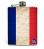 Nutcase 207 ML French Flag Hip Flask