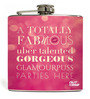 Nutcase 207 ML Glamourpuss Party Flask - Gifts For Her Hip Flask