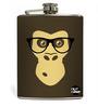 Nutcase 207 ML Hipster Chimp Hip Flask