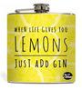 Nutcase 207 ML Lemon & Gin Hip Flask