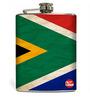 Nutcase 207 ML SA Flag Hip Flask