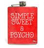 Nutcase 207 ML Simple Sweet $ Psycho Hip Flask
