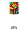 Nutcase Multicolour Fabric Table Lamp