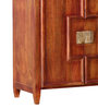 Oak Harbor Bar Cabinet in Honey Oak Finish by Woodsworth