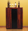 Oakland Bar Cabinet in Dual Tone Finish by Woodsworth