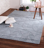 Obeetee Blue & Sage Wool 96 x 60 Inch Andes Carpet