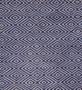Obeetee Blue Wool 96 x 60 Inch Devin Tufted Carpet