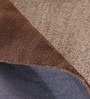 Obeetee Brown Wool 96 x 60 Inch Classic Carpet