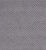 Obeetee Grey Wool 96 x 60 Inch Hi Low Hooked Diamond Carpet