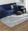 Obeetee Light Blue Wool 60 x 96 Inch Anan Carpet