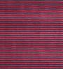Obeetee Navy & Red Viscose 96 x 60 Inch Essential Stripe Carpet
