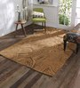 Obeetee Rust Wool 60 x 96 Inch Concentric Carpet