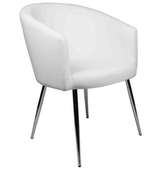 Occational Chair in White Colour by Ventura