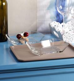 Ocean Modular Glass Serving Plate - Set of 6