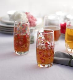 Ocean Refreshing Joy Red Glass 370 ml - Set of 6