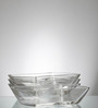 Ocean Modular Glass Serving Plate - Set of 6