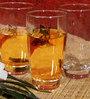 Ocean Tiara 355 ML Highball Whisky Glasses - Set of 6