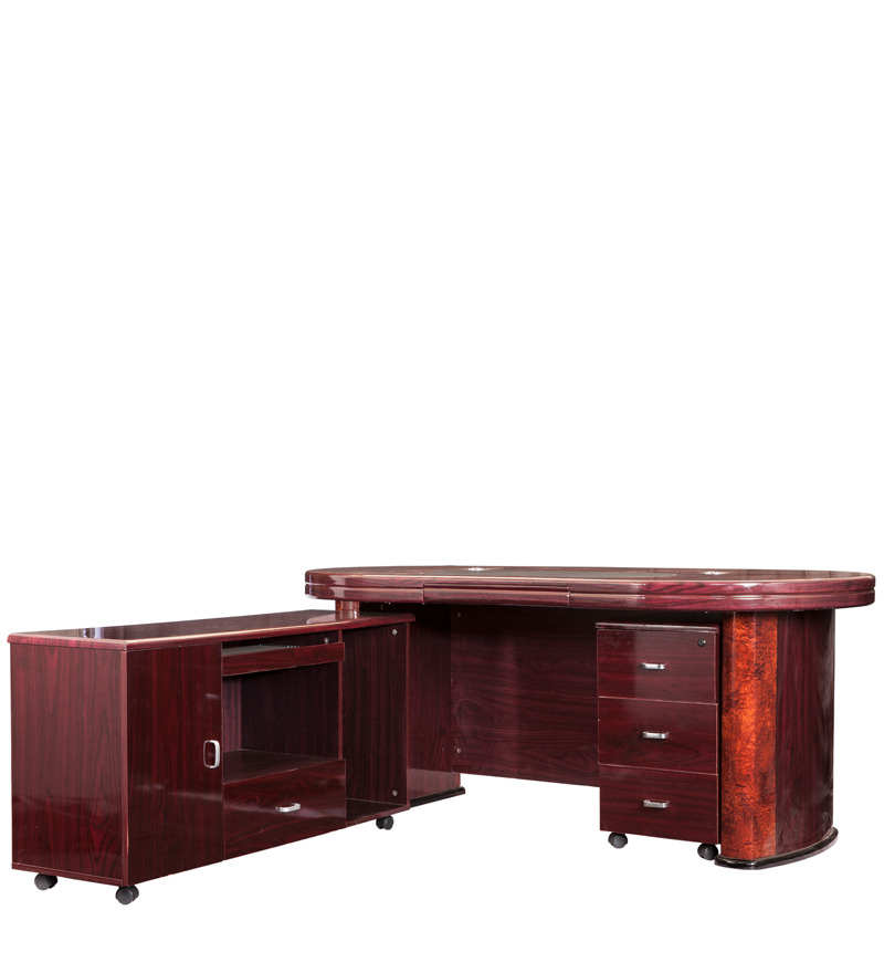 office table with side runner by durian by durian online